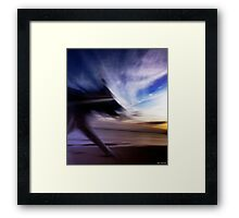 I let my self out. Thanks for asking.  Framed Print