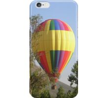 Balloon Rising From Trees... iPhone Case/Skin