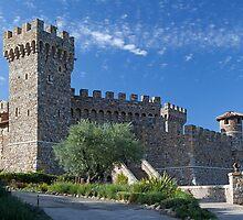 Castello di Amorosa, Napa Valley, California by Brendon Perkins