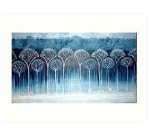 Secret of Kells forest  Art Print