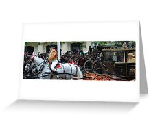 Carriage for the Queen Greeting Card