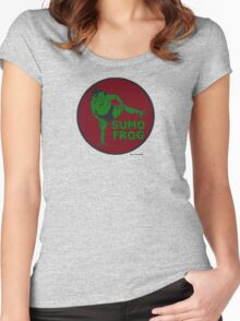 THE SUMO FROG Women's Fitted Scoop T-Shirt