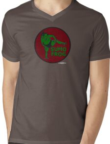 THE SUMO FROG Mens V-Neck T-Shirt