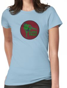 THE SUMO FROG Womens Fitted T-Shirt