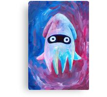 Pink and Blueper Canvas Print