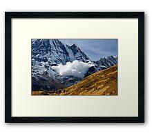 Avalanche! II Framed Print