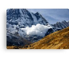 Avalanche! II Canvas Print