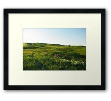 The Hills are Alive... Framed Print