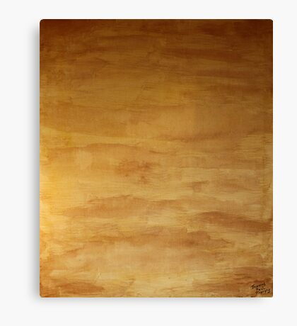 The Shroud of the River Pueblo Mesa Canvas Print