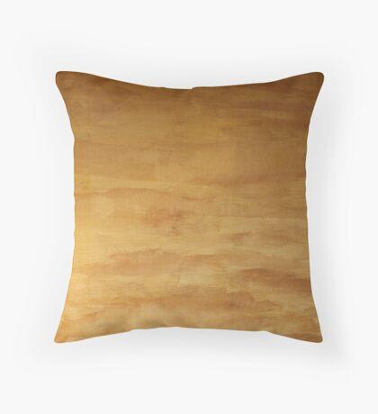The Shroud of the River Pueblo Mesa Throw Pillow