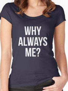 Mario balotelli celebration alternative version Women's Fitted Scoop T-Shirt