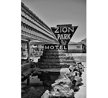 Zion Park Motel  Photographic Print