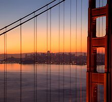 Morning Lights of San Francisco, California by Brendon Perkins