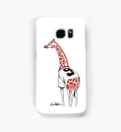 Belt Giraffe (White) Samsung Galaxy Case/Skin