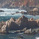 Big Sur Coastline, California by Brendon Perkins