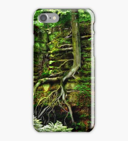 CLINGING FOR LIFE - IPHONE CASE iPhone Case/Skin