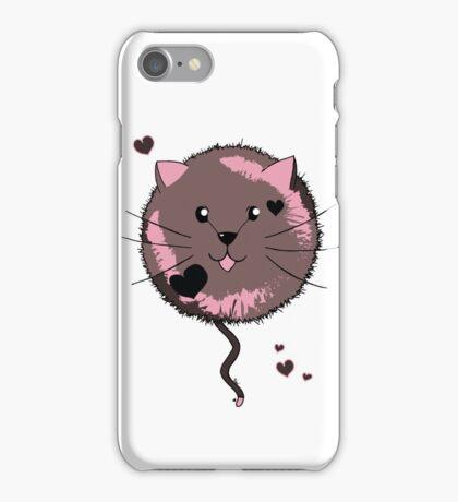 Kawaii Cat Ball iPhone Case/Skin