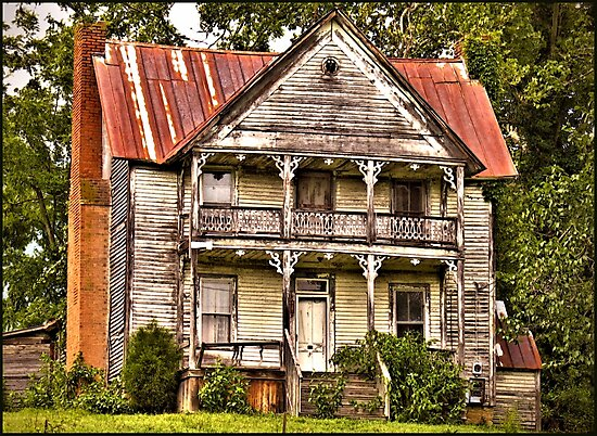 """"""" This is no Prefab Structure, Built the Old Fashioned Way""""... prints and products by © Bob Hall"""
