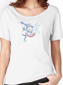 Boarding Snowman Women's Relaxed Fit T-Shirt