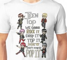 Teen Top- Rocking Unisex T-Shirt