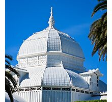 Conservatory of Flowers, San Francisco Photographic Print