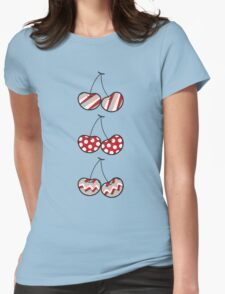 Summer Retro Pattern Cheeky Cherries T-shirt T-Shirt