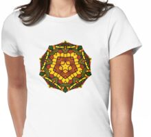 Glass Star Womens Fitted T-Shirt