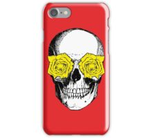 Skull & Roses | Red & Yellow iPhone Case/Skin