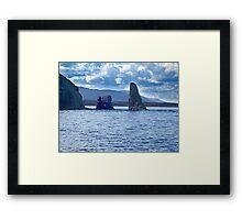 Old Scot Rock Framed Print