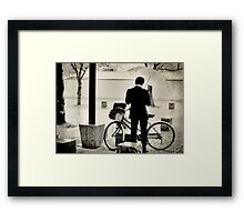 Kyoto Businessman Framed Print