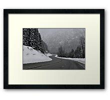 Stevens Pass Framed Print