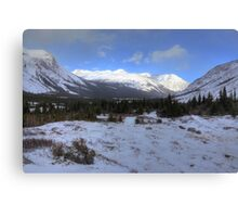 Elbow Pass valley VIII Canvas Print