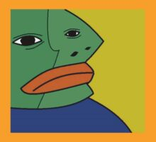 Extremely Rare Abstract Art Pepe by BerryRare