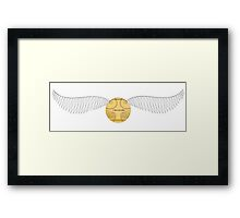 The Golden Snitch Framed Print