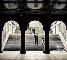 Steps In The Park by David Sundstrom