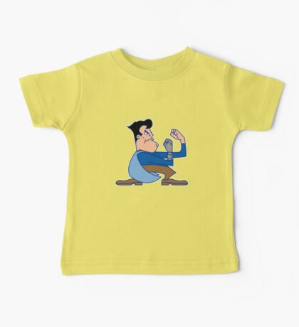 Fighting Ash vs. the Army of Darkness Baby Tee