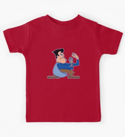 Fighting Ash vs. the Army of Darkness Kids Tee