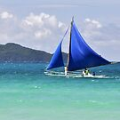 Blue Sails at Boracay by chijude