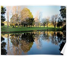 Stirk Park Reflections Poster