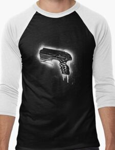 Farscape Pulse pistol - Black line Men's Baseball ¾ T-Shirt