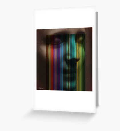 Unknown Haunted Woman Greeting Card
