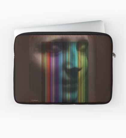 Unknown Haunted Woman Laptop Sleeve