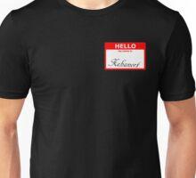 Xehanort nametag Unisex T-Shirt