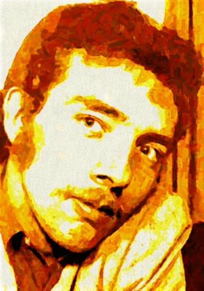 PORTRAIT OF THE ARTIST AS A YOUNG DUDE. by Terry Collett