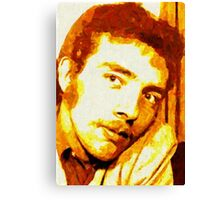 PORTRAIT OF THE ARTIST AS A YOUNG DUDE. Canvas Print