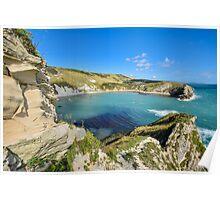Lulworth Cove, Dorset, UK Poster