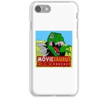 The Moviesaurus Rex Podcast Cover Art iPhone Case/Skin