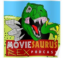The Moviesaurus Rex Podcast Cover Art Poster