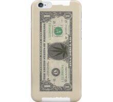 Marihuana dollar iPhone Case/Skin