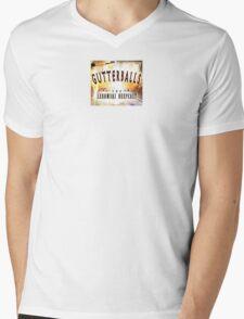Gutterballs Logo Mens V-Neck T-Shirt